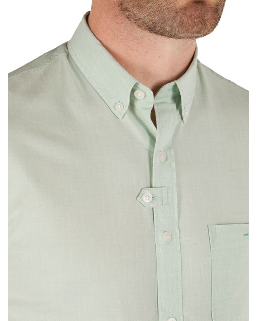 Racing Green | Green Saltaire Short Sleeve Shirt for Men | Lyst