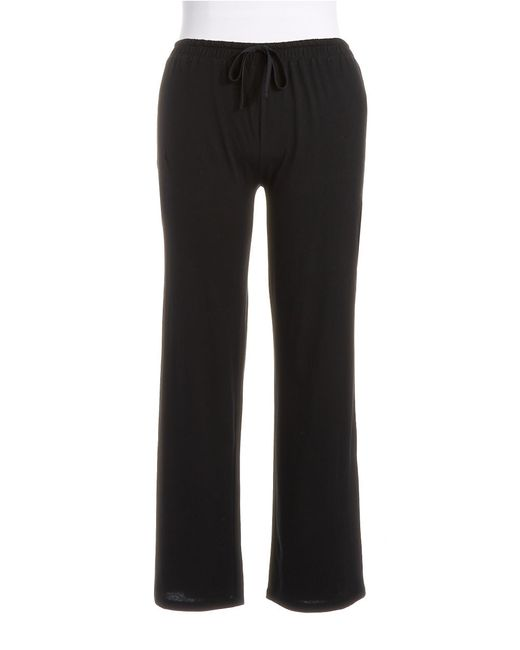 Lord & Taylor | Black Plus Pima Cotton Lounge Pants | Lyst