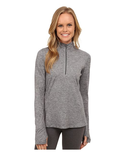 Nike | Gray Dri-fit™ Element Half Zip | Lyst