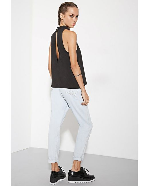 Forever 21 | Black The Fifth Label Just For Now Top | Lyst