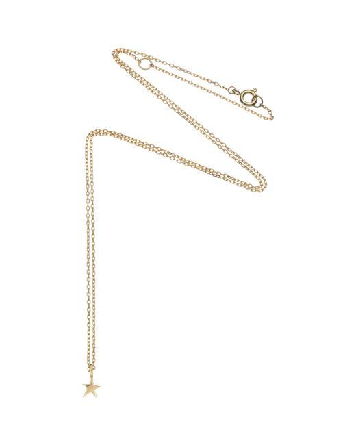 Estella Bartlett | Metallic Fine Gold Plated Sterling Silver Mini Star Pendant | Lyst