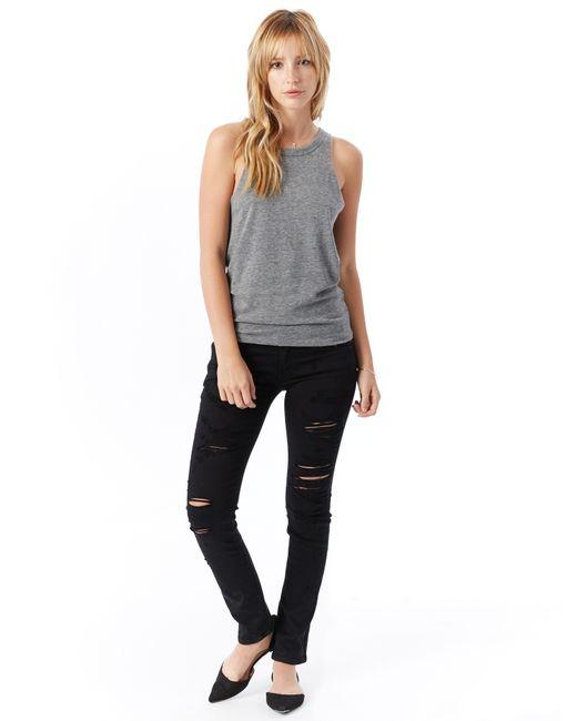 Alternative Apparel | Black Agolde Chloe Low Rise Slim Jeans | Lyst