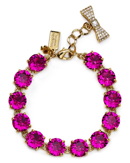 kate spade new york | Pink Fancy That Bracelet | Lyst