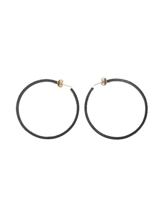 Yossi Harari | Brown Lilah Cognac Diamond Hoop Earrings | Lyst