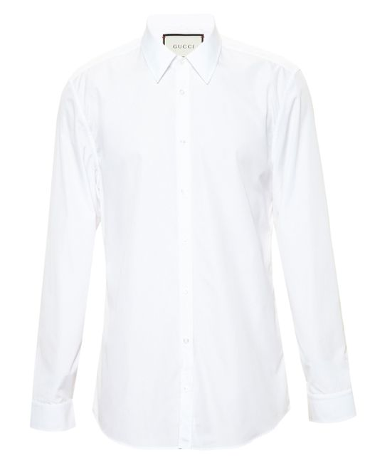 Gucci | White Classic Poplin Tailored Shirt for Men | Lyst