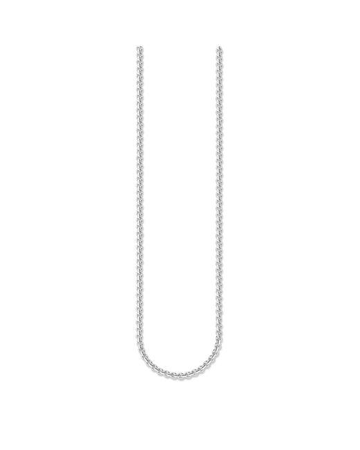 Thomas Sabo | Metallic Sterling Silver Lobster Clasp Necklace 53cm | Lyst