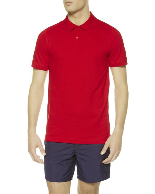 La Perla | Red Polo Shirt for Men | Lyst
