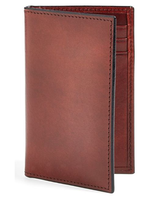Bosca | Brown 'old Leather' Card Case for Men | Lyst