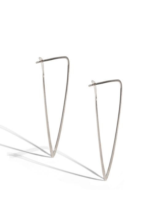 Melissa Joy Manning | Metallic 2 Inch Large Dagger Hoops | Lyst