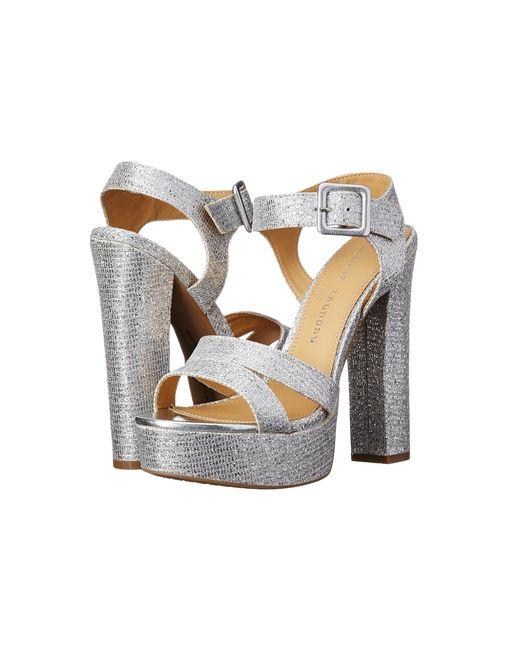 Chinese Laundry | Metallic Allspice Platform Sandal | Lyst