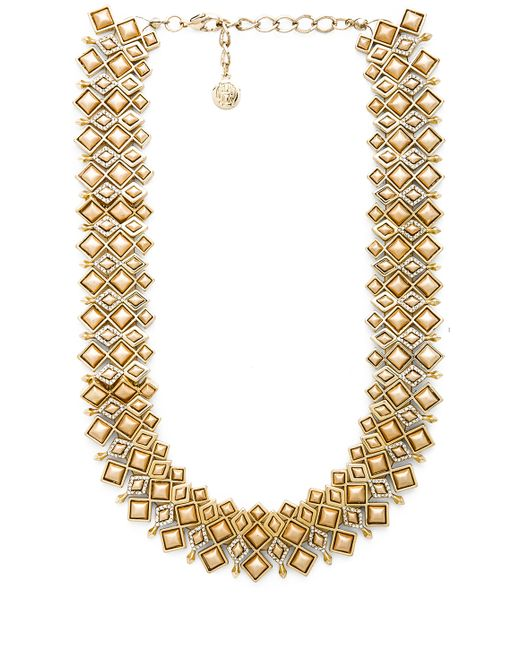House of Harlow 1960 | Metallic Kraals Statement Necklace | Lyst