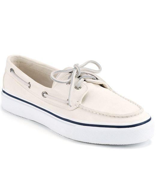 Sperry Top-Sider | White Men's Bahama 2-eye Boat Sneakers for Men | Lyst