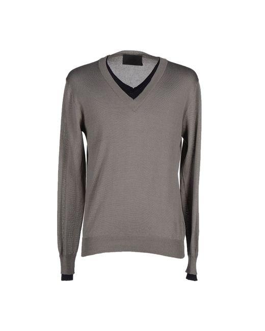 Les Hommes | Gray Sweater for Men | Lyst