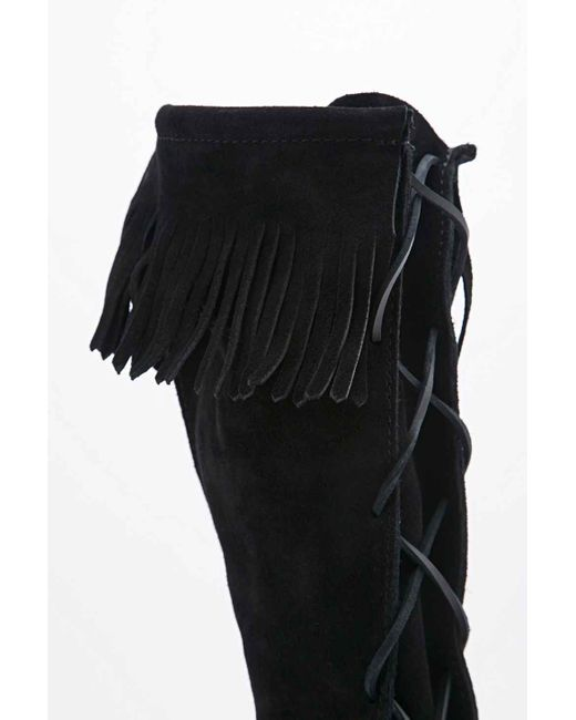 Minnetonka   Black Ankle Boots   Lyst