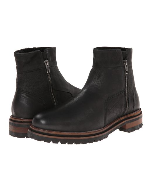 H by Hudson | Black H By Hudson Buckley Strap Boots for Men | Lyst