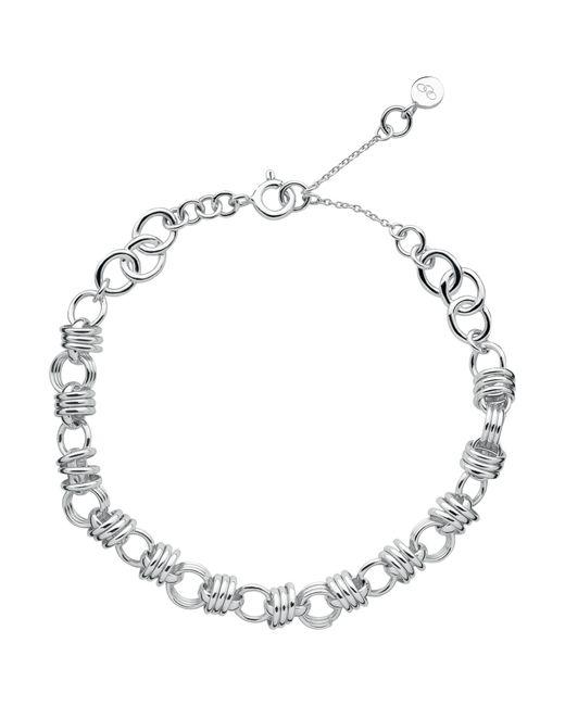 Links of London   Metallic Sweetie Xs Sterling Silver Chain Charm Bracelet   Lyst