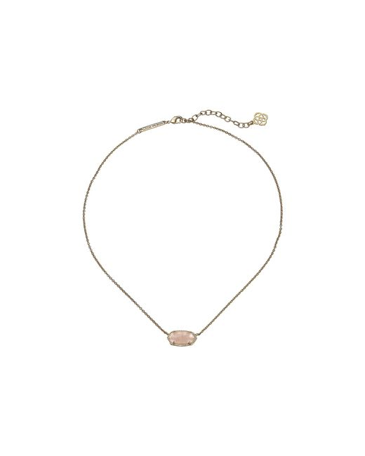 Kendra Scott | Metallic Elisa Pendant Necklace | Lyst