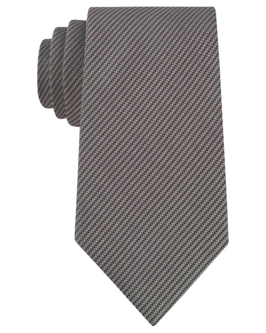 Kenneth Cole Reaction   Brown Two-color Micro Tie for Men   Lyst