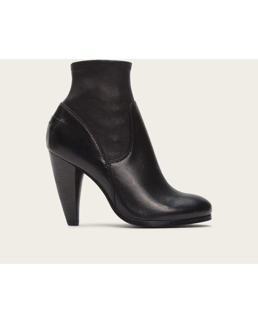 Frye | Black Natalie Short Engineer Boots | Lyst
