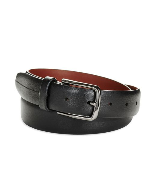 Perry Ellis | Black Reversible Leather Belt for Men | Lyst
