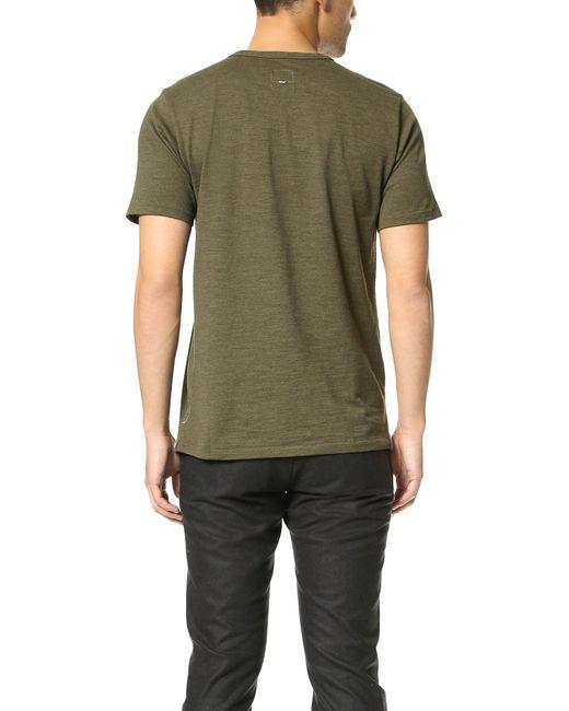 Rag & Bone | Green Standard Issue Pocket Tee for Men | Lyst