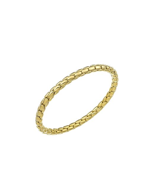 Chimento | Metallic 18k Rose Gold Stretch Spring Collection Disc Rope Bracelet | Lyst