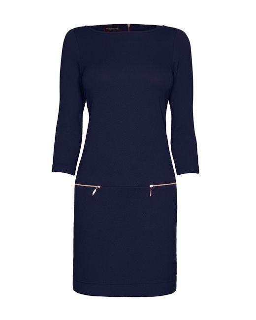 James Lakeland | Blue Three Zips Dress | Lyst