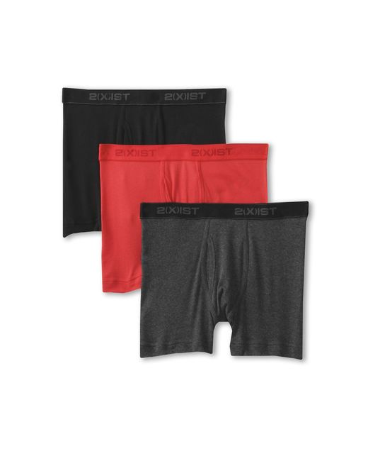 2xist | Multicolor 3-pack Essential Boxer Briefs for Men | Lyst