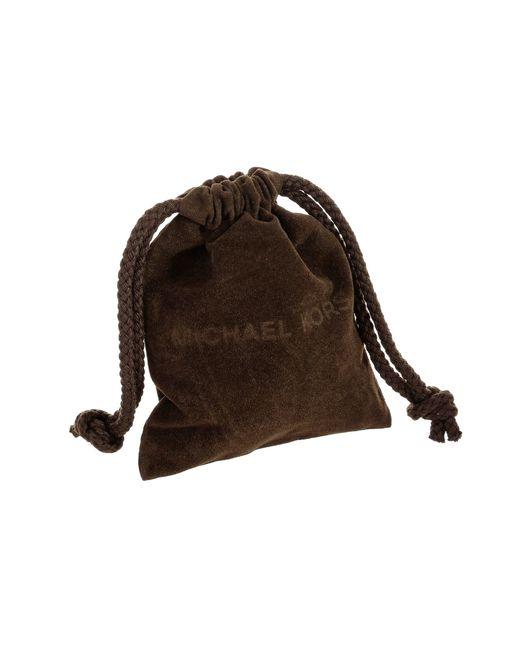Michael Kors   Metallic Brilliance Large Hoop Post Earring   Lyst