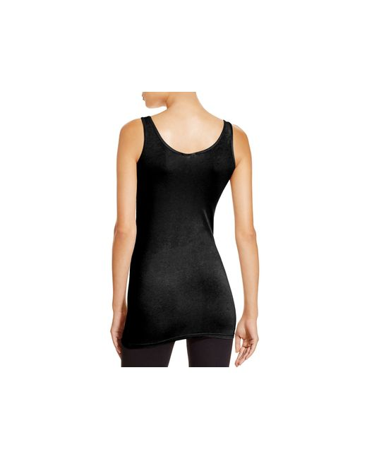 Splendid | Black Layers Scoop-neck Tank | Lyst