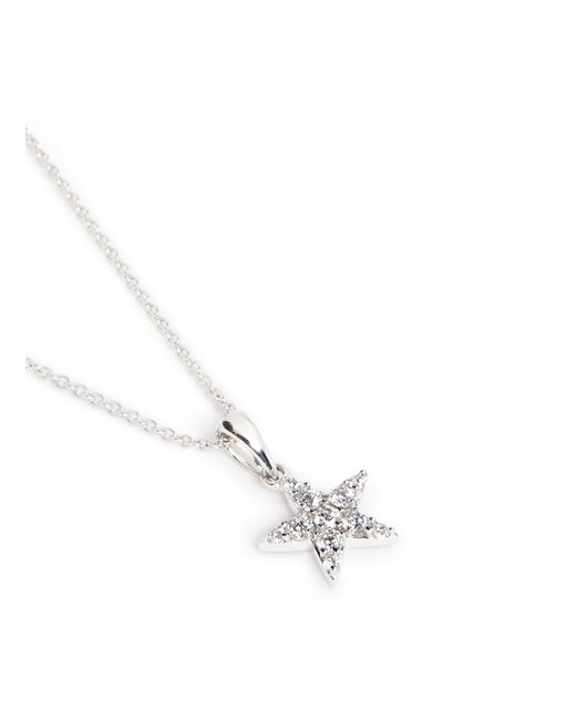 Khai Khai | Metallic 'star' Diamond Pendant Necklace | Lyst