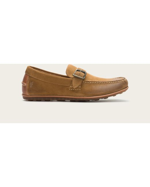 Frye | Natural Harris Buckle for Men | Lyst