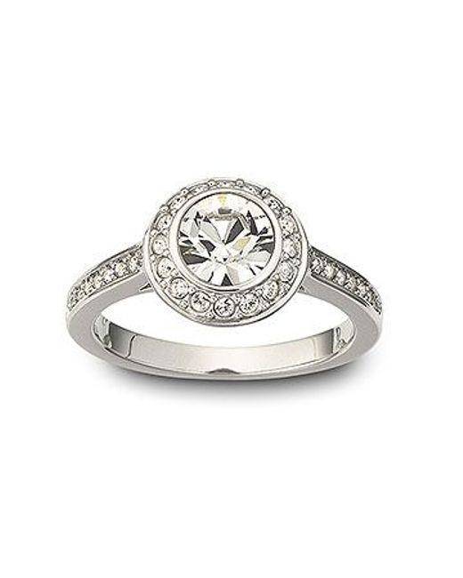 Swarovski | Metallic Angelic Ring | Lyst