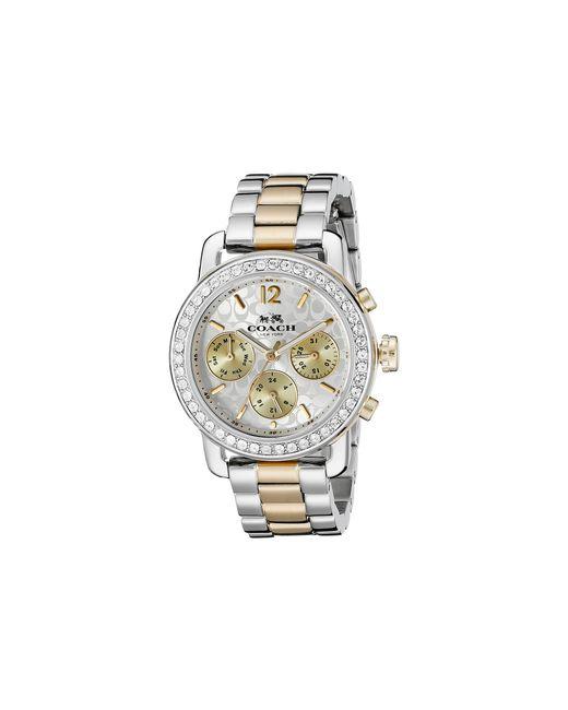 COACH | Metallic Legacy Sport 36mm Bracelet Watch | Lyst