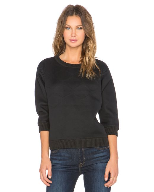 g star raw claro sweater in black save 69 lyst. Black Bedroom Furniture Sets. Home Design Ideas