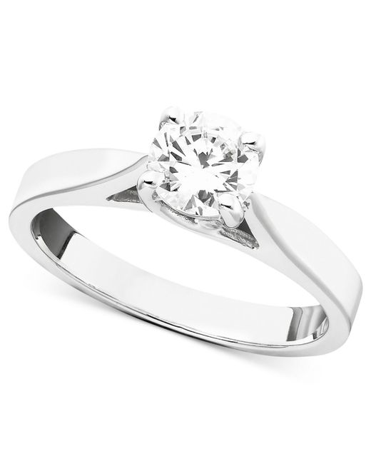 Macy's Engagement Ring, Certified Diamond (3/4 Ct. T.w