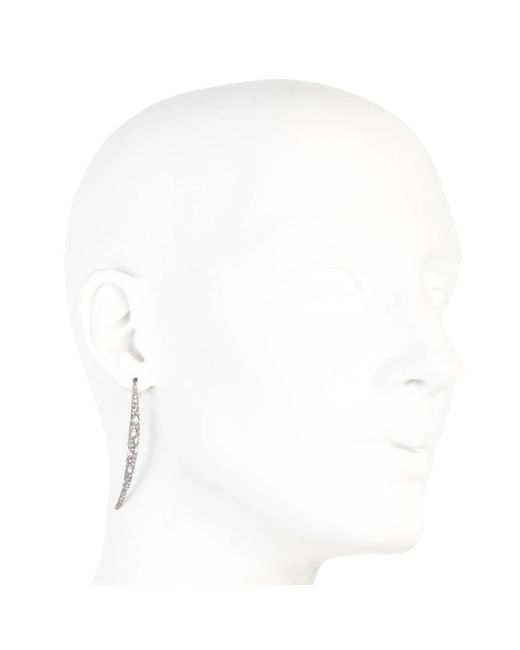 Alexis Bittar | Gray Encrusted Spear Infinity Wire Earring You Might Also Like | Lyst