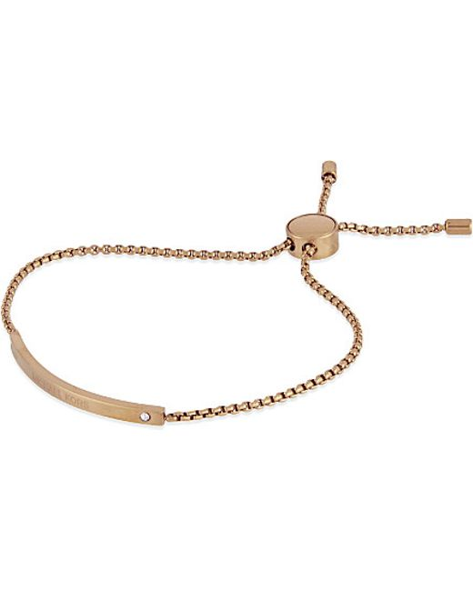 Michael Kors | Pink Glitz Friendship Bracelet | Lyst