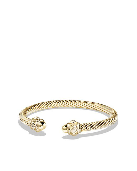 David Yurman | Metallic Renaissance Bracelet In 18k Gold, 5mm | Lyst