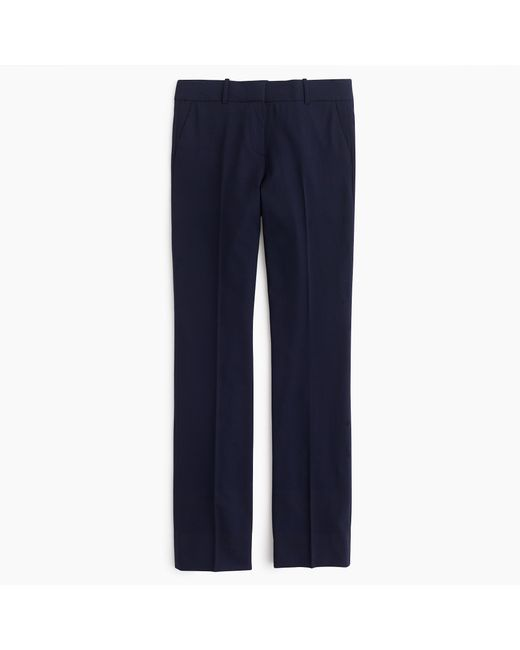 J.Crew | Blue Campbell Trouser In Italian Stretch Wool | Lyst