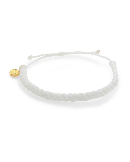 Pura Vida | White Braided Bracelet | Lyst