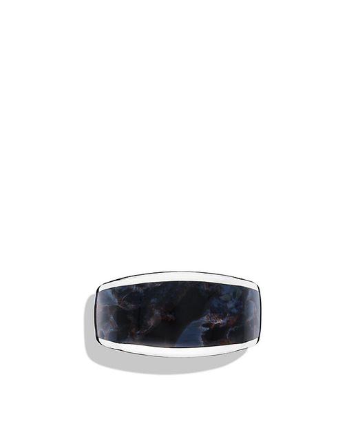 David Yurman | Metallic Exotic Stone Narrow Three-sided Ring With Pietersite for Men | Lyst