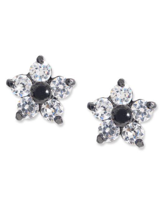 Betsey Johnson | Metallic Crystal Star Stud Earrings | Lyst