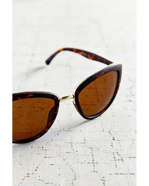 Quay | Brown My Girl Sunglasses | Lyst