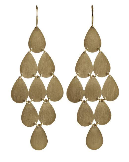 Irene Neuwirth | Metallic 18kt Yellow Gold Chandelier Earrings | Lyst