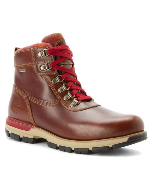 Timberland | Brown Earthkeepers Rugged 6inch Waterproof Plain Toe Boots for Men | Lyst