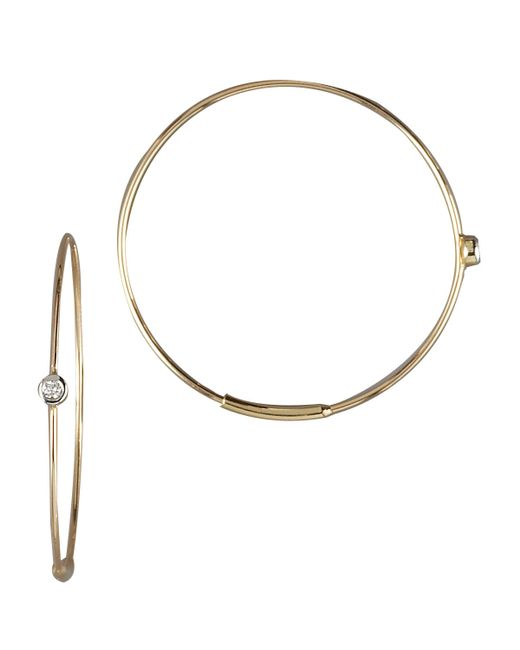 Lana Jewelry | Metallic Small Magic Diamond Hoops | Lyst