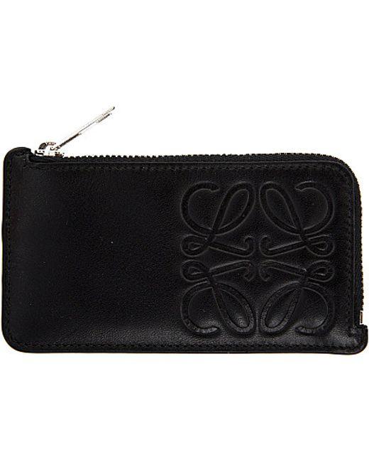 Loewe | Black Anagram Key Holder | Lyst