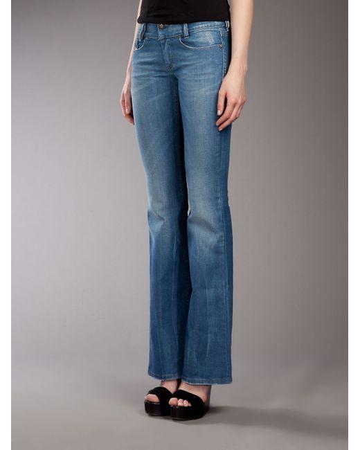 DIESEL | Blue Skinzee 0848l Skinny Jeans | Lyst