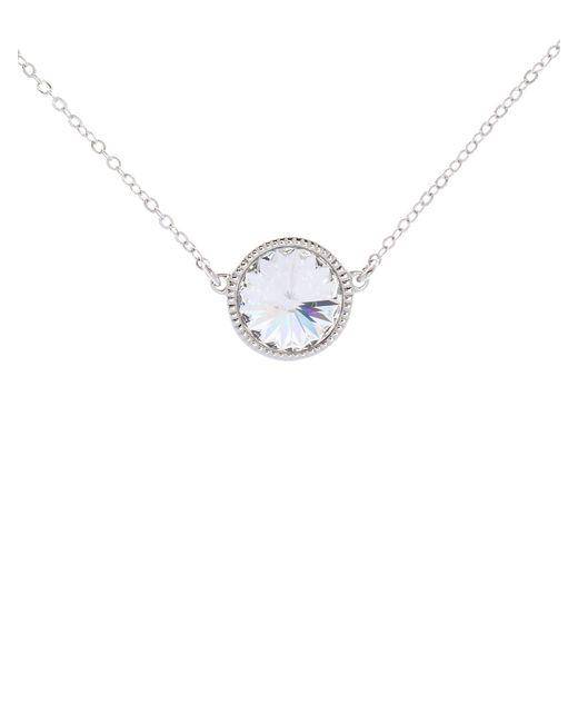Ted Baker | Metallic Rainia Rivoli Crystal Necklace | Lyst